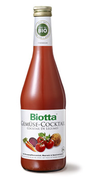 Biotta Vegetable Cocktail Juice