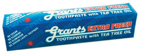 Grants Extra Fresh Toothpaste with Tea Tree Oil