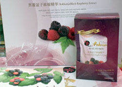 Raspberry Extract for Antiaging