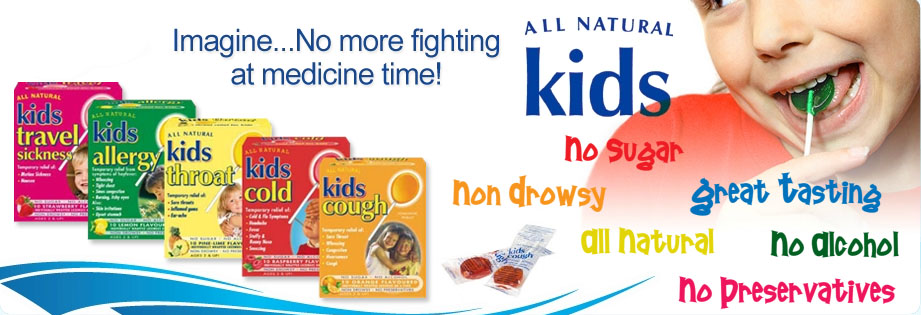 All Natural Kids Lollipop For Cough
