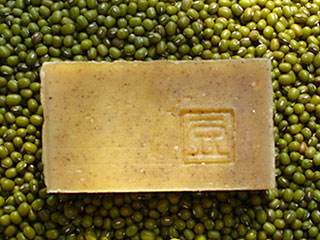 Organic Mung Bean and Job's Tear Soap